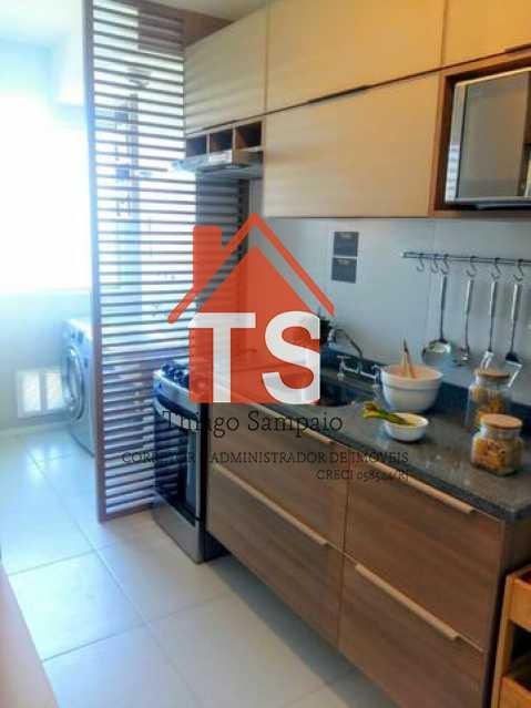 cozinha apt decorado - Apartamento à venda Rua São Brás,Cachambi, Rio de Janeiro - R$ 319.000 - TSAP20125 - 6