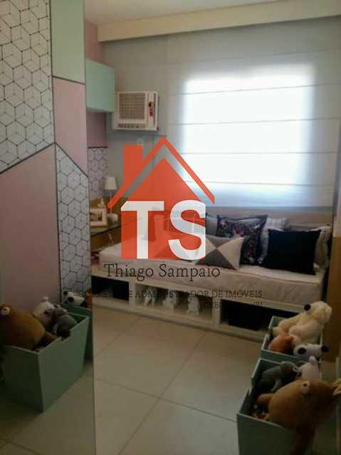 quarto apt decorado - Apartamento à venda Rua São Brás,Cachambi, Rio de Janeiro - R$ 319.000 - TSAP20125 - 8