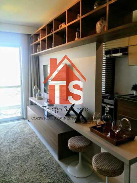 sala apt decorado - Apartamento à venda Rua São Brás,Cachambi, Rio de Janeiro - R$ 319.000 - TSAP20125 - 11