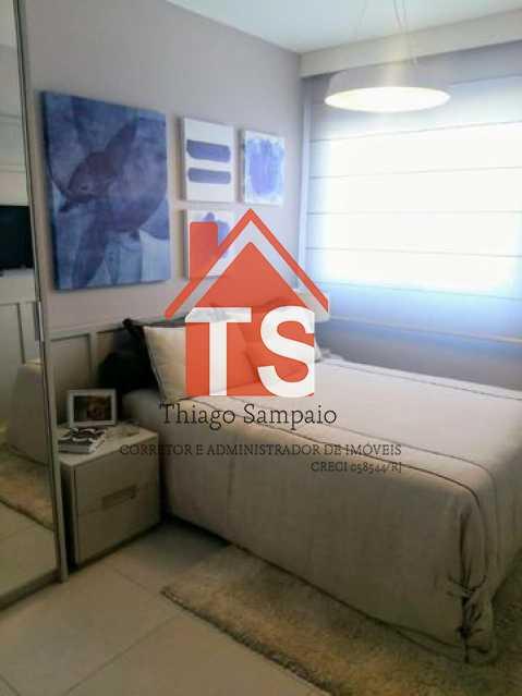 suíte apt decorado 2 - Apartamento à venda Rua São Brás,Cachambi, Rio de Janeiro - R$ 319.000 - TSAP20125 - 12