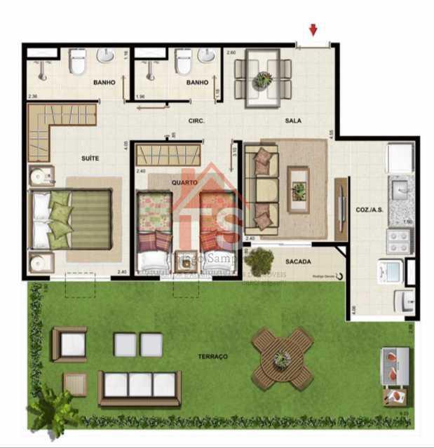 bd7e6055-b26d-4ecd-b4d0-83f568 - Apartamento à venda Rua Fernão Cardim,Engenho de Dentro, Rio de Janeiro - R$ 295.000 - TSAP20182 - 14