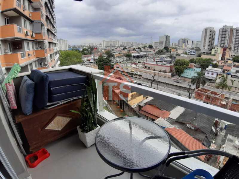 0c3b1fe4-97cc-4480-9b05-54b288 - Apartamento à venda Avenida Dom Hélder Câmara,Engenho de Dentro, Rio de Janeiro - R$ 369.500 - TSAP20189 - 1