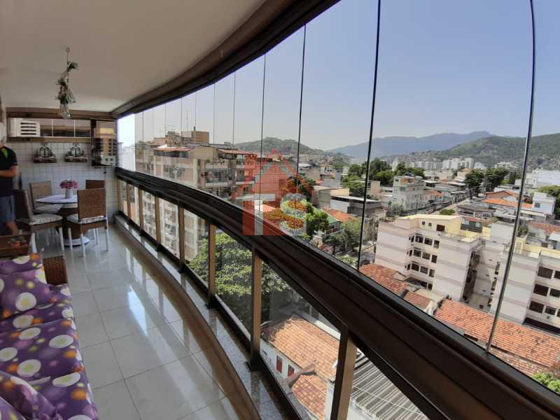 3e08f610-153f-48ac-81d7-eae77c - Cobertura à venda Rua Lópes da Cruz,Méier, Rio de Janeiro - R$ 1.490.000 - TSCO40005 - 1