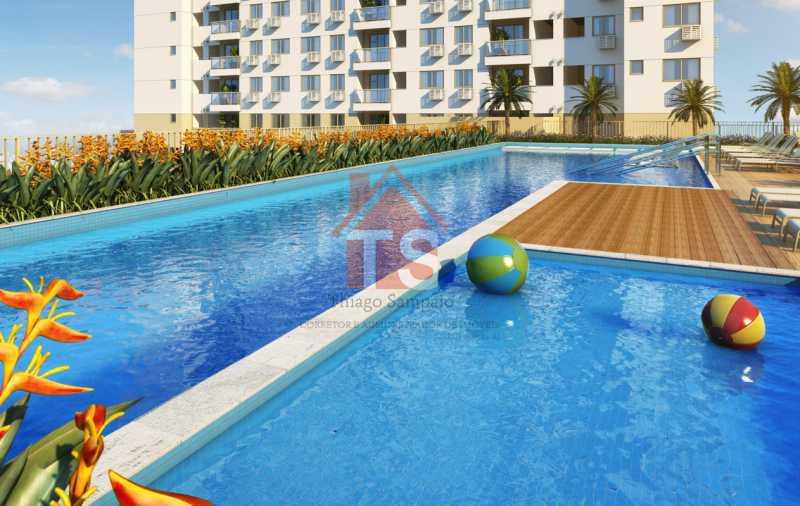 02_piscina_infantil - Apartamento à venda Avenida Dom Hélder Câmara,Pilares, Rio de Janeiro - R$ 372.000 - TSAP00009 - 1