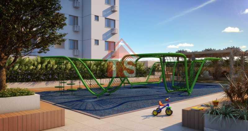 08_play_externo - Apartamento à venda Avenida Dom Hélder Câmara,Pilares, Rio de Janeiro - R$ 372.000 - TSAP00009 - 5