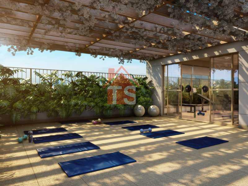 10_yoga_descanso - Apartamento à venda Avenida Dom Hélder Câmara,Pilares, Rio de Janeiro - R$ 372.000 - TSAP00009 - 6