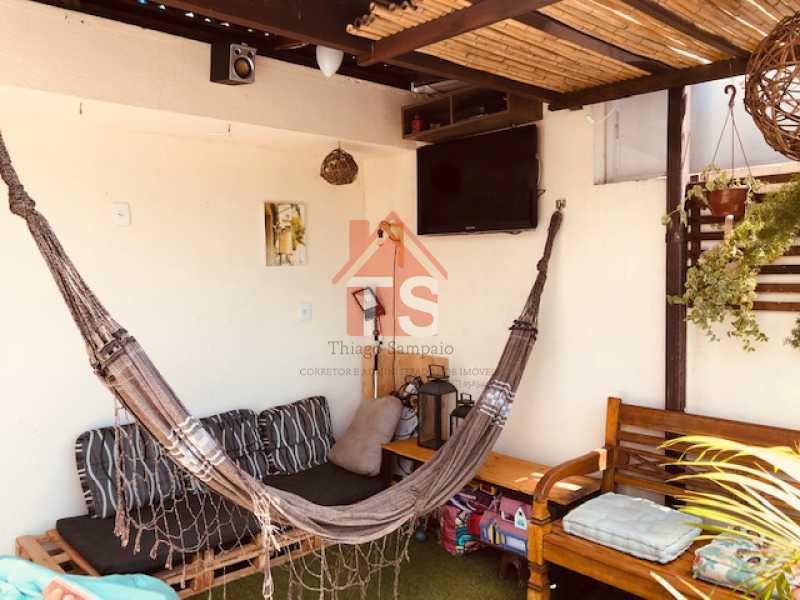 IMG_4740 - Casa de Vila à venda Rua Daniel Carneiro,Engenho de Dentro, Rio de Janeiro - R$ 450.000 - TSCV20007 - 28
