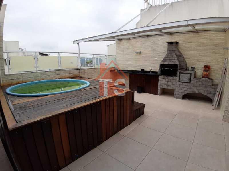 d39701a6-ba27-4ffb-8440-1b58b9 - Cobertura à venda Rua Cachambi,Cachambi, Rio de Janeiro - R$ 625.000 - TSCO30014 - 23