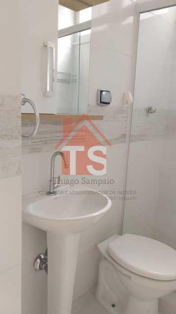 BANHEIRO COM GABINETE. - Apartamento para alugar Rua Capitão Jesus,Cachambi, Rio de Janeiro - R$ 700 - TSAP20221 - 29