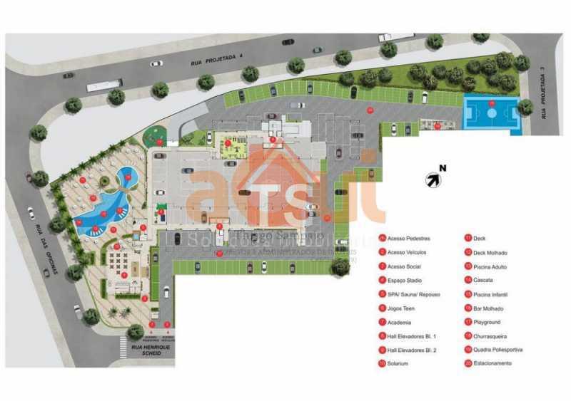stadio-residencial-plantas-002 - Apartamento 3 quartos à venda Engenho de Dentro, Rio de Janeiro - R$ 459.900 - TSAP30156 - 3