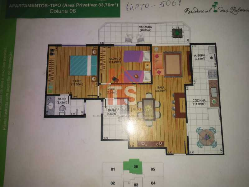 63a42cbb-004f-4951-8805-9c2e5f - Amplo apto de 2 qts com suíte e 85m² - com duas vagas e lazer completo ao lado do Norte Shopping - TSAP20231 - 16