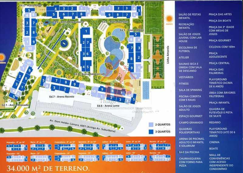 arena-masterplan - Apartamento à venda Avenida Dom Hélder Câmara,Pilares, Rio de Janeiro - R$ 450.000 - TSAP130002 - 24