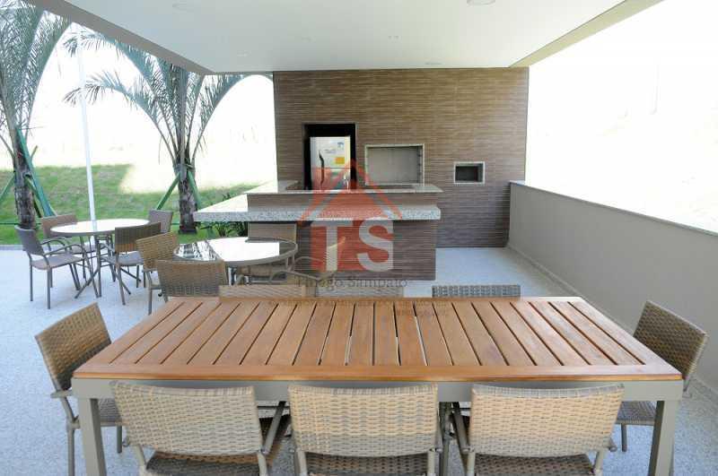 Churrasqueira. - Apartamento à venda Rua Piauí,Todos os Santos, Rio de Janeiro - R$ 240.000 - TSAP10019 - 19