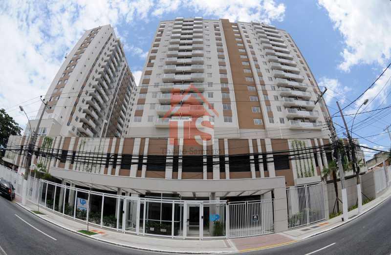 Fachada. - Apartamento à venda Rua Piauí,Todos os Santos, Rio de Janeiro - R$ 240.000 - TSAP10019 - 20