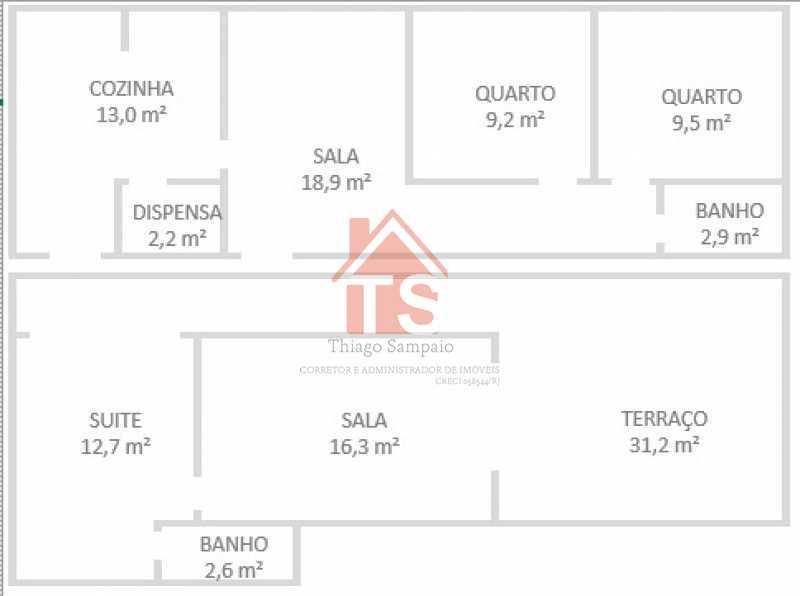 WhatsApp Image 2021-08-28 at 1 - Cobertura à venda Rua Aquidabã,Méier, Rio de Janeiro - R$ 580.000 - TSCO30017 - 26