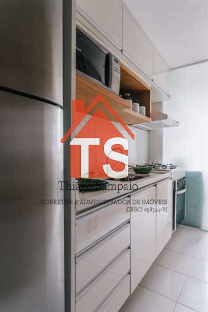 Cozinha Apt Decorado - Apartamento À VENDA, Cachambi, Rio de Janeiro, RJ - TSAP20025 - 9