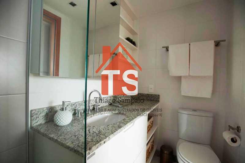 banheiro apt decorado - Apartamento À VENDA, Engenho de Dentro, Rio de Janeiro, RJ - TSAP20026 - 4