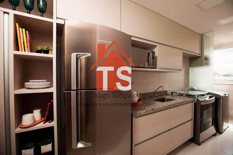 cozinha apt decorado - Apartamento À VENDA, Engenho de Dentro, Rio de Janeiro, RJ - TSAP20026 - 6