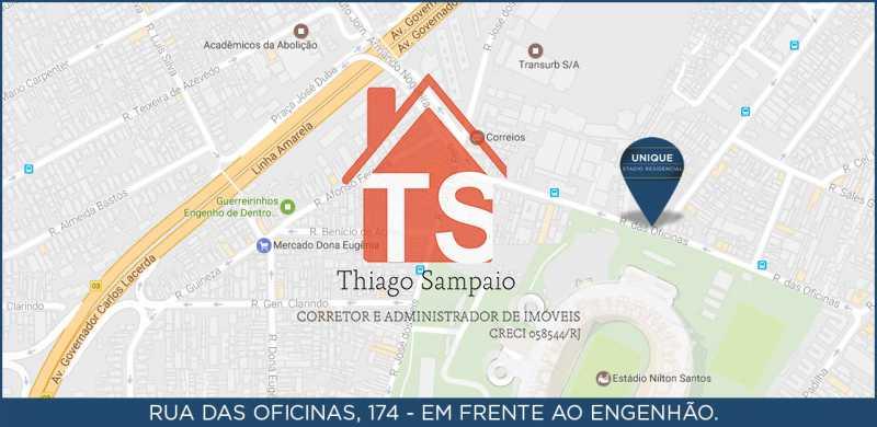 localização - Apartamento À VENDA, Engenho de Dentro, Rio de Janeiro, RJ - TSAP20026 - 15