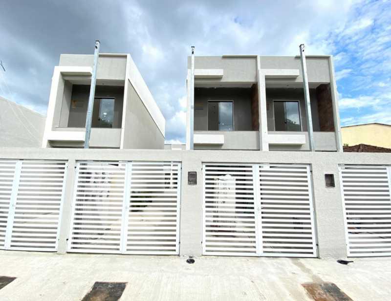 Entrada - Casas duplex com 2 quartos para venda em mesquita - SICA20048 - 1