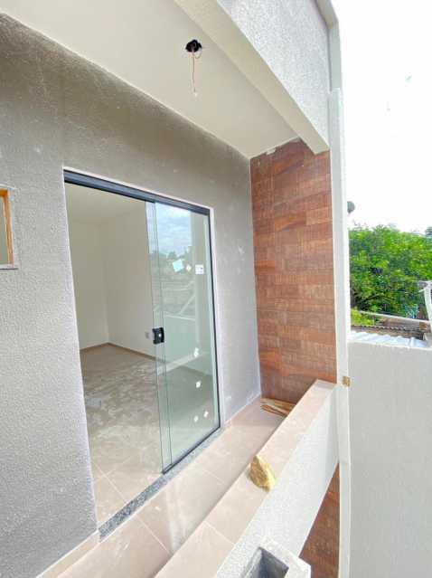 Varanda do quarto 2 - Casas duplex com 2 quartos para venda em mesquita - SICA20048 - 13