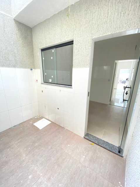 Porta da cozinha acesso área - Casas duplex com 2 quartos para venda em mesquita - SICA20048 - 17