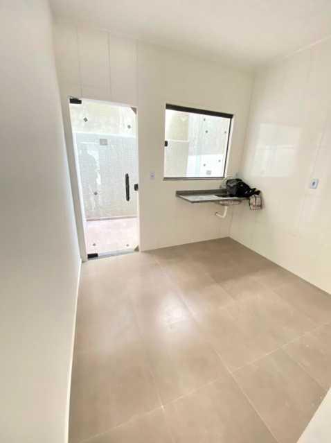 Cozinha - Casas duplex com 2 quartos para venda em mesquita - SICA20048 - 14