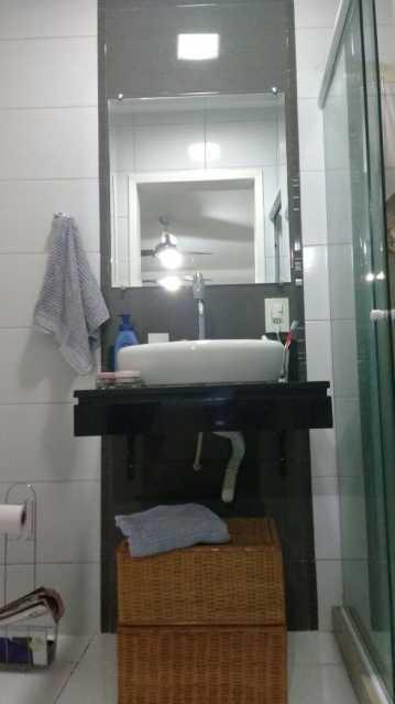 Banheiro suíte - Casa com 3 quartos no centro de Nilópolis! - SICA30017 - 28
