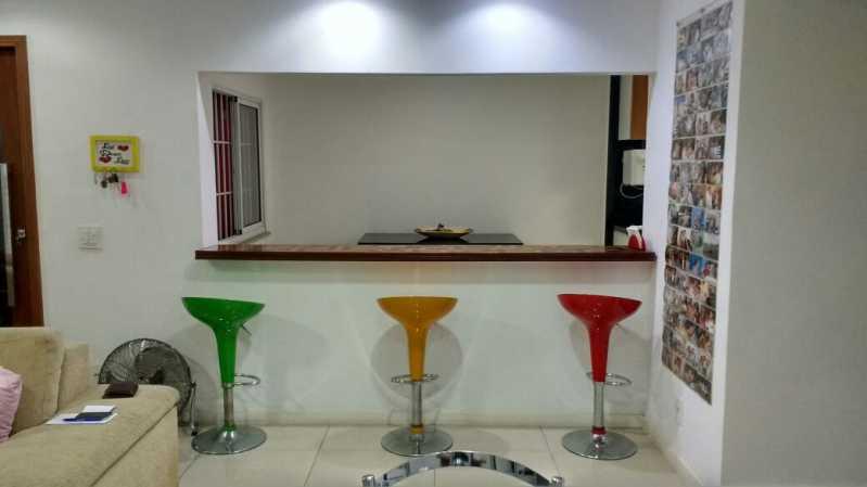 Integração sala-cozinha - Casa com 3 quartos no centro de Nilópolis! - SICA30017 - 1