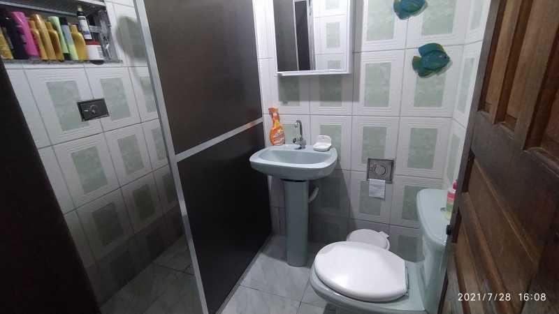 BANHEIRO - Terreno com 2 casas para venda na Vila Emil - Mesquita - SICA30026 - 3