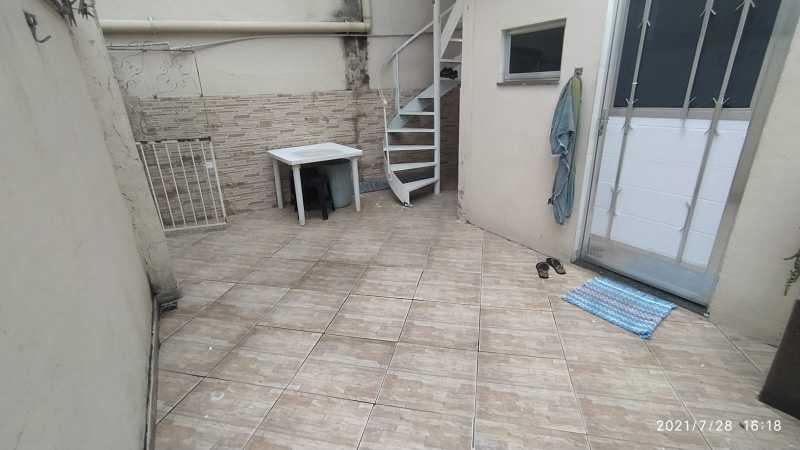 AREA DA FRENTE - Terreno com 2 casas para venda na Vila Emil - Mesquita - SICA30026 - 15