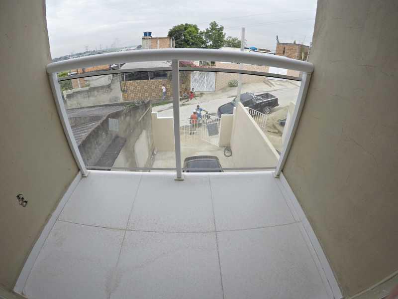 GOPR3314 - Casa nova com 2 quartos ( 1 suíte) para venda em Mesquita - PMCA20198 - 13