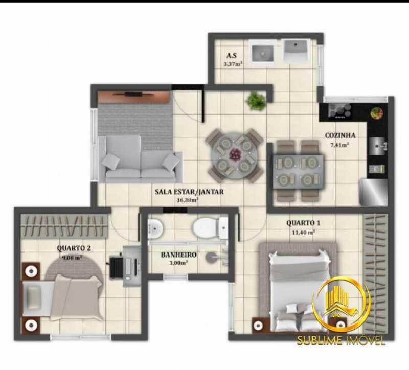 7396699 - Apartamento com 2 quartos em Santo Elias para venda . Financiamento caixa - PMAP20070 - 13