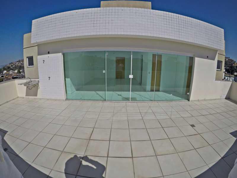 GOPR1420 - Linda Cobertura Linear com 2 suítes para venda em Mesquita - PMAP20073 - 18