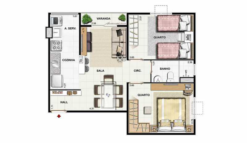 dez_nova_igua_u_52_plantas - Apartamento Novo de 2 quartos pronto para morar em nova Iguaçu - PMAP20075 - 5