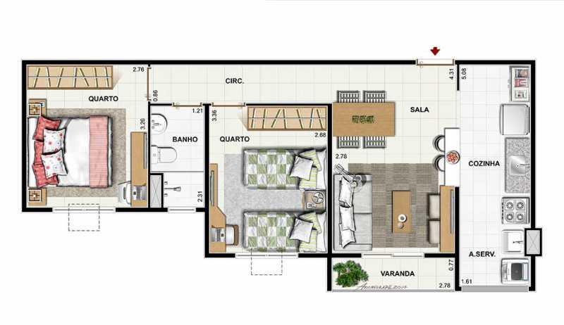 dez_nova_igua_u_53_plantas - Apartamento Novo de 2 quartos pronto para morar em nova Iguaçu - PMAP20075 - 6
