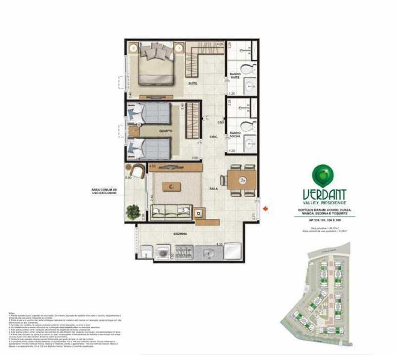 apartamento-grand-club-verdant - Apartamento 2 quartos à venda Jacarepaguá, Rio de Janeiro - R$ 271.700 - PMAP20084 - 26