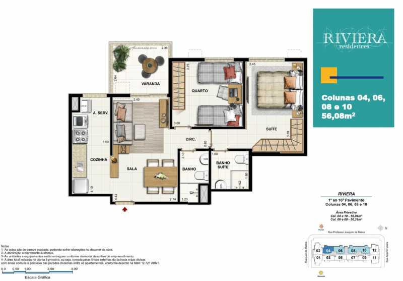 Sem aefeqaf - Apartamento 2 quartos à venda Luz, Nova Iguaçu - R$ 317.000 - PMAP20090 - 18