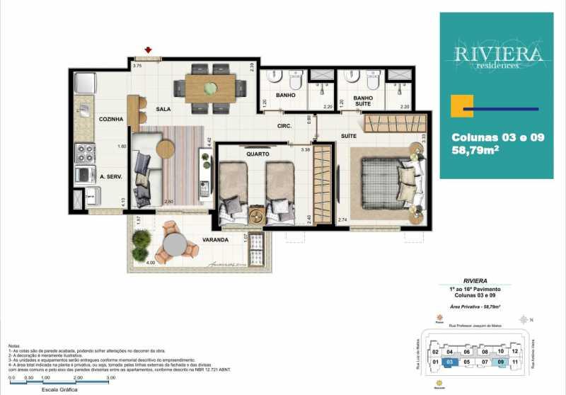 Sem títuloasdfds - Apartamento 2 quartos à venda Luz, Nova Iguaçu - R$ 317.000 - PMAP20090 - 19