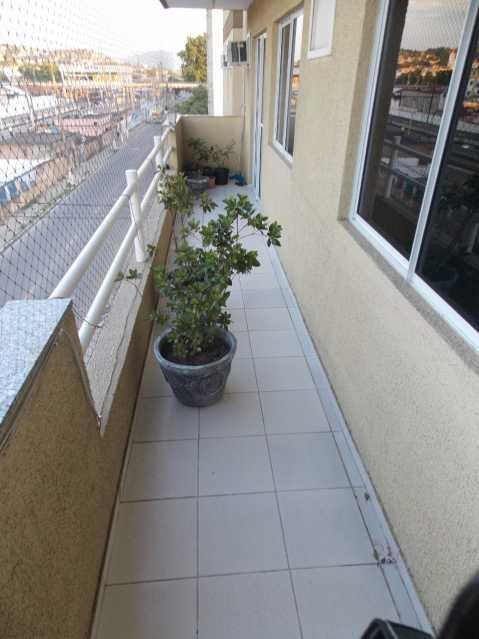 19 - Lindo Apartamento de 2 quartos ( 1 suíte ) para venda no Centro de Mesquita. - PMAP20097 - 22