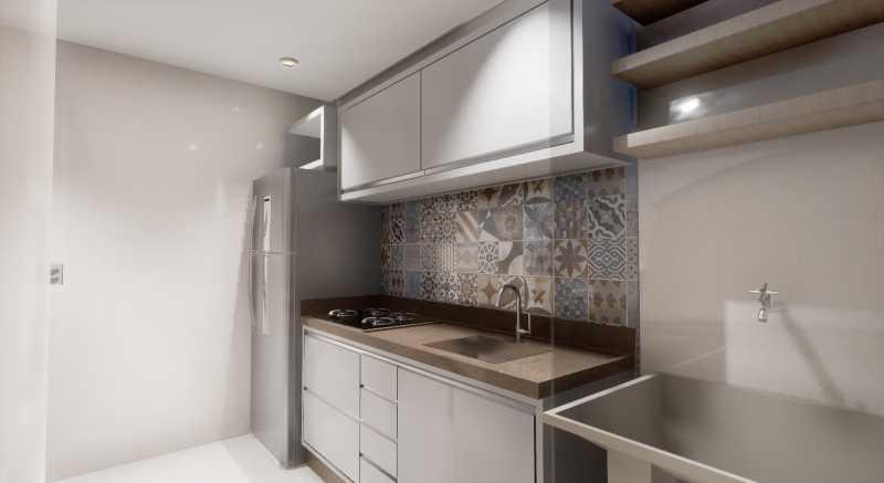 Ilustrativas 24. - Apartamento em Construção próximo ao Shopping Caxias para venda - PMAP20116 - 4