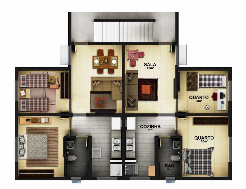 Ilustrativas 25. - Apartamento em Construção próximo ao Shopping Caxias para venda - PMAP20116 - 29
