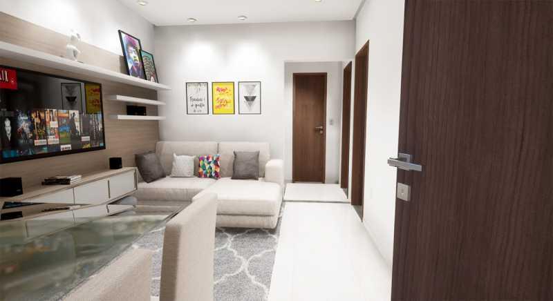 Ilustrativas 26. - Apartamento em Construção próximo ao Shopping Caxias para venda - PMAP20116 - 9
