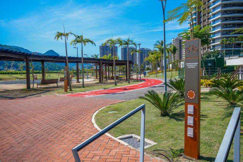 Carregadores-de-Bicicleta-Elé - O condomínio mais moderno da Barra da Tijuca. - PMAP30035 - 6