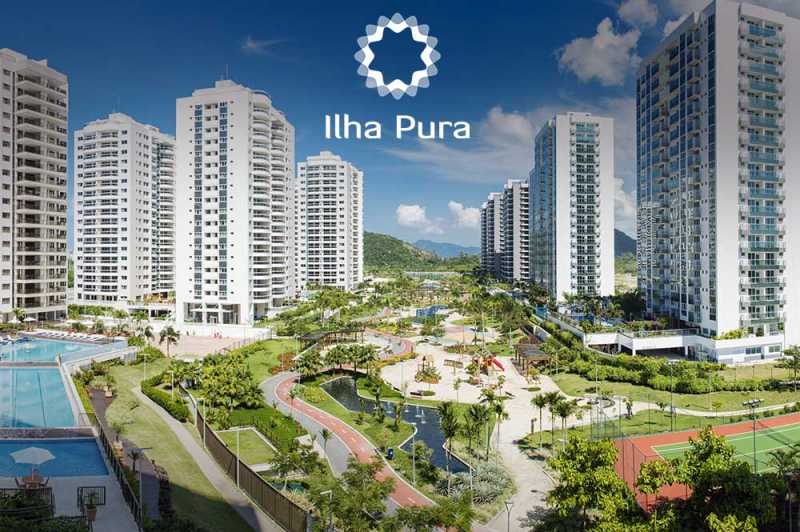 Carvalho-Hosken-Barra-da-Tijuc - O condomínio mais moderno da Barra da Tijuca. - PMAP30035 - 1