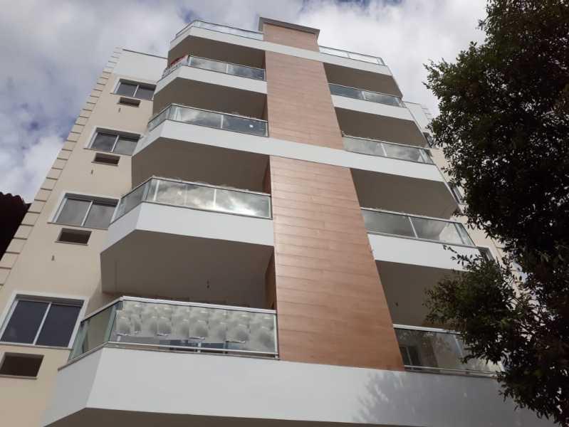 Fachada - Apartamento 2 quartos à venda Chacrinha, Nova Iguaçu - R$ 320.000 - PMAP20135 - 3