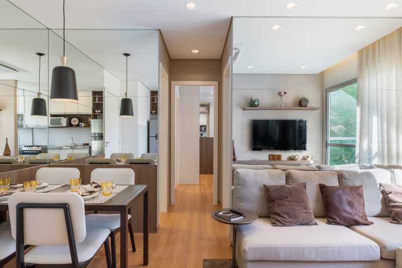 Decorado-Mirataia-25 - Apartamento 2 quartos à venda Pechincha, Rio de Janeiro - R$ 221.900 - PMAP20160 - 9
