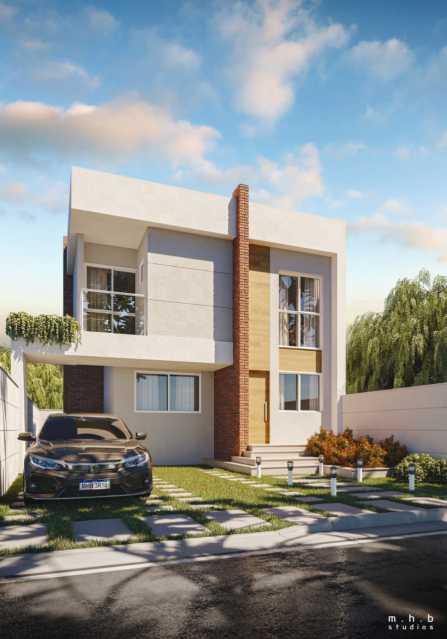 Fachada casa - casa de alto padrão em nova iguaçu ao lado do shopping - PMCN30022 - 1