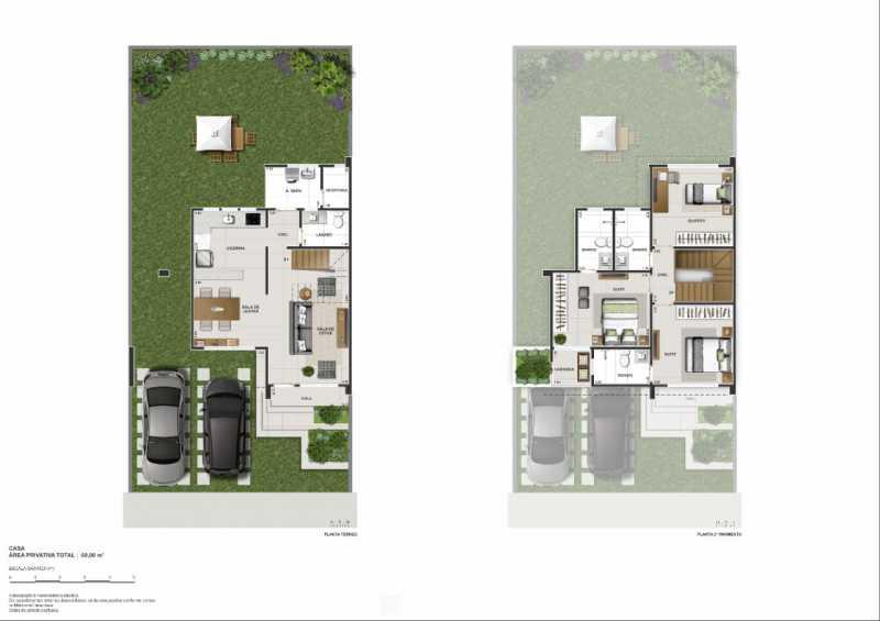 Planta casa. - casa de alto padrão em nova iguaçu ao lado do shopping - PMCN30022 - 10