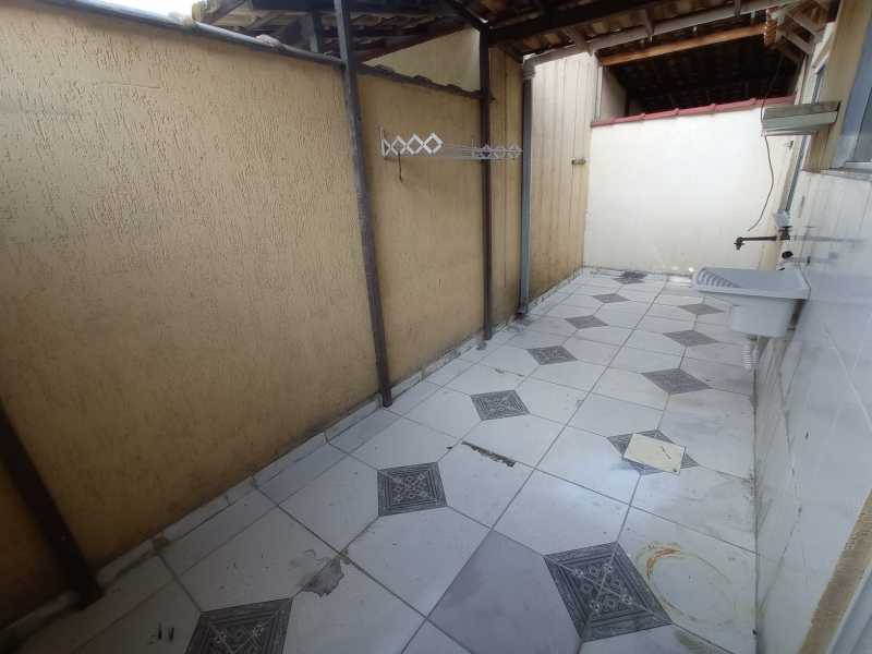 ÁREA DE SERVIÇO - Casa 2 quartos à venda Jacutinga, Mesquita - R$ 165.000 - SICA20020 - 9